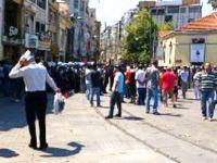 Taksim'deki protestoya müdahale