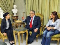 Leyla Zana, Talabani ile görüştü