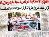 Erdoğan Mısır basınının manşetlerinde