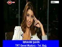 Canlı yayına TRT Şeş müdahalesi!