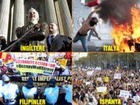 'Wall Street'i işgal et' eylemi 82 ülkeye yayıldı