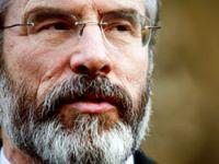 Gerry Adams konuştu heyet şaşırdı!