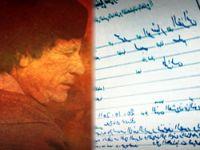 İşte Kaddafi'nin ölüm tutanağı