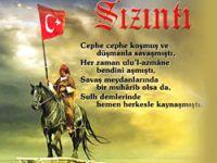 Kürt Said Nursi'nin eline Türk bayrağı vermek!