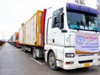 Federal Kürdistan'dan Van'a 113 Tır'lık yardım