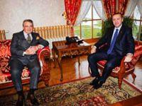 Erdoğan, Rahmi Koç'la görüştü