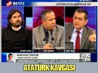 Canlı yayında Atatürk kavgası!