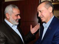 Erdoğan, İsmail Heniyye ile görüştü