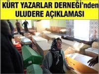 Kürt yazarlardan katliama tepki