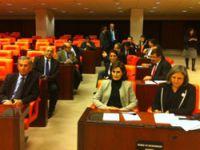 BDP'den 'Meclis'te sabahlama' protestosu