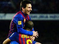 Messi uçtu, Barça coştu!