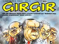 Gırgır, 'MİT'i kapak yaptı