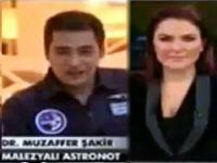 Malezyalı doktor uzayda namaz kıldı! Video