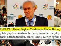 Kemal Burkay'a Zaman gazetesinden ilginç sıfat!