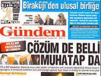 Taraf, Özgür Gündem'i manşete taşıdı!