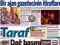 Taraf'ın ajan haberi ortalığı karıştırdı!