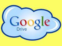 Google Drive kullanıma hazır