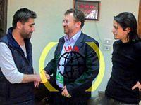 Türk gazetecilerin ilk görüntüleri