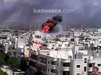 Şam'da bombalı saldırı: En az 40 ölü