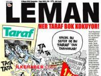Leman'dan kavga çıkartacak kapak
