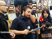 Roboski katliamı Taksim'de protesto edildi