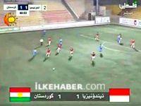 Kürdistan Milli Takımı yarı finalde...