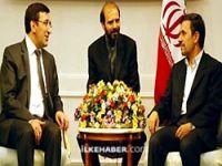 Bakan Yılmaz, Ahmedinejad ile görüştü