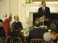 Obama iftar yemeği verdi, Ali'yi övdü