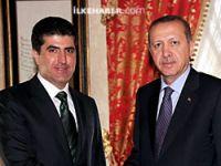 Erdoğan Neçirvan Barzani ile görüştü