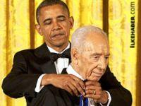 ABD Peres'e Özgürlük Madalyası!