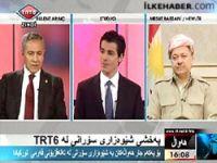 Barzani ve Arınç TRT 6 canlı yayınında!