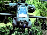 Kürt ordusu Apache helikopter ile tanışıyor