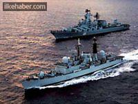 İsrail savaş gemileri Ege'ye!