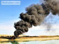 Mardin'de petrol boru hattına sabotaj