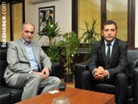 İran Konsolosu CHP'yi ziyaret etti