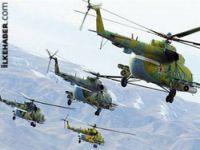 Esad Halep'i Rus helikopteriyle vuruyor