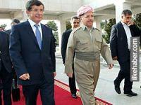 Barzani-Davutoğlu görüşmesinden etnik kimliklere saygı çıktı