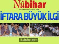 Nûbihar'ın iftar yemeğine büyük ilgi