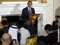 Obama Beyaz Saray'da iftar yemeği verdi