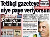 Cengiz Çandar: Tetikçi gazeteye niye paye veriyorsun?