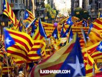 Katalanlar bağımsızlık için yürüdü