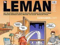 Sakık'ın oğluna yapılanlar Leman'ın kapağında