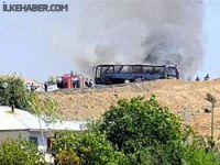 Askeri konvoya saldırı: 10 asker yaşamını yitirdi