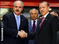 Erdoğan'dan Kurtulmuş'a: Yuvanıza hoş geldiniz