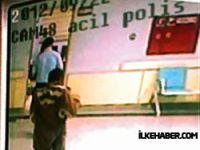 Hastane polisini arkadan vurdular