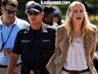 Ünlü oyuncu Daryl Hannah tutuklandı