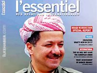 Barzani Fransız dergisi L'Essentiel'e konuştu