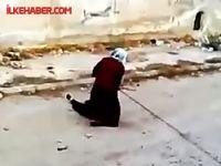 Suriyeli kadından ölümüne yardım!