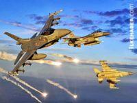 Savaş Uçakları Musul'da IŞİD'in 10 tankını havaya uçurdu