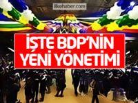 İşte BDP'nin yeni yönetimi